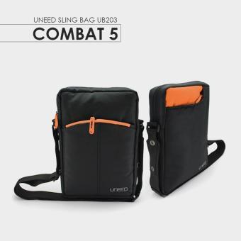 Uneed Combat 5 Tas Selempang Pria Universal / Tas Sling Bag for Tablet .