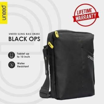 Uneed Black Ops Tas Selempang Pria Universal / Tas Sling Bag for Tablet 10inch - Water