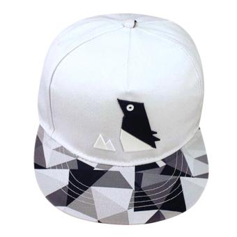 Adapula Yg Dpt Mengatur Snapback Hip Hop Baseball Cap (Putih)