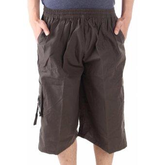 Valatex celana pendek cargo bigsize - Hijau