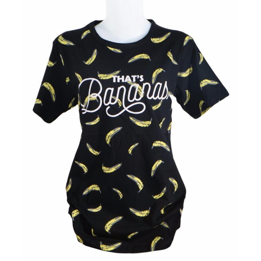 Vanwin - Kaos Cewek / Tumblr Tee / T-Shirt Wanita That's Banana Pisang -