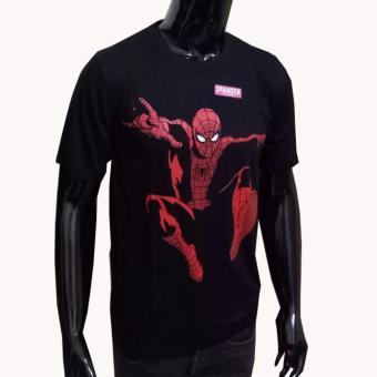 VERICHI Kaos T shirt Distro Atasan Pria Sablon ANIME Tokoh Kartun SUPER HERO .