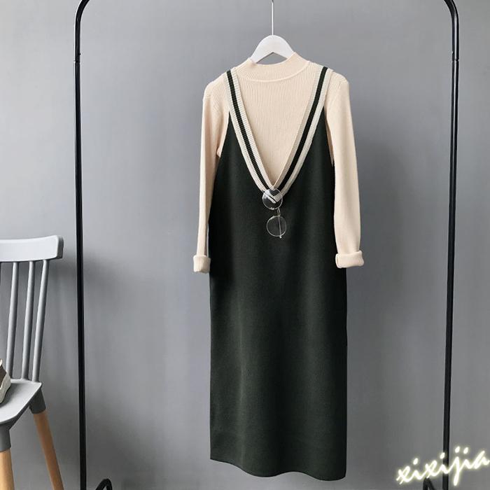 Flash Sale Versi Korea dari musim gugur baru adalah baju tipis (Hijau)