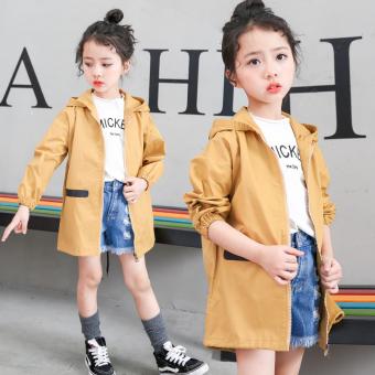 Harga Penawaran Versi Korea dari Musim Semi dan Gugur baru anak-anak jaket anak perempuan