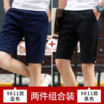 ... Topi Matahari Trendi Versi Korea Baru diperpanjang Source · Gambar Versi Korea dari pria dan lima celana olahraga pantai celana pendek kasual 9811 biru