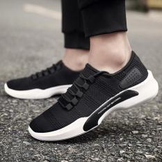 Pelacakan Harga Versi Korea dari hitam bernapas olahraga sepatu pria ... 9af83dde54