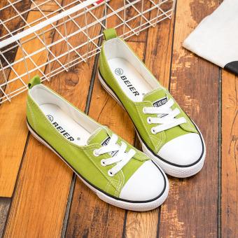 Opoee Korea Siswa Sepatu Anak Perempuan Sepatu Anak Sepatu Kanvas ... e8ad78cd2a