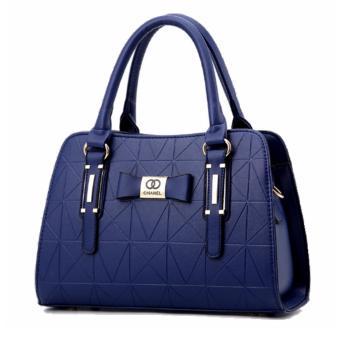 Vicria Tas Branded Wanita - Korean High Quality Bag CH Style N2161 - Blue