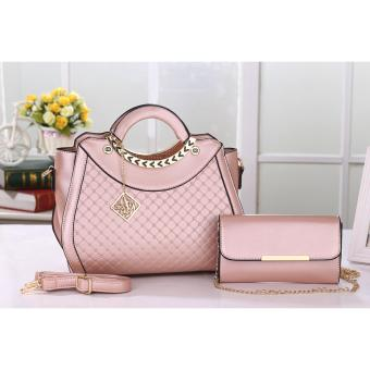 Vicria Tas Import Wanita 2in1 High Quality PU Leather Korean Elegant Bag Style  Tas Branded 514 1ec8b50dbe