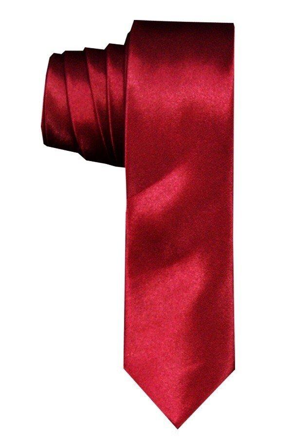 Review of VM Dasi Polos Slim - Merah Maroon