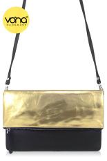 VONA Pitta Distressed (Gold) - Tas Wanita Selempang Sling Bag Clutch Crossbody Kecil