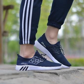 Waktu terbatas penawaran *** Berlari Sneakers Pria Zapatillas Deportivas Hombre gratis Run untuk Mens pelatih olahraga Jogging Homme ringan nyaman sepatu (Abu-abu) - 4