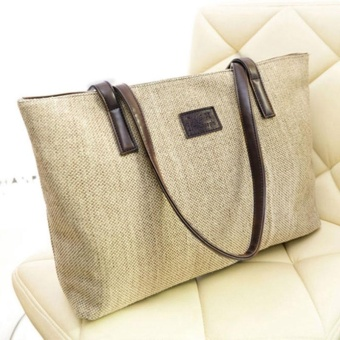 Women Fashion Handbag Messenger Hobo Shoulder Tote Purse Large Capacity Bag - intl