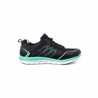 Women Mamamo Hitam Hijau Turquoise Woman Running Shoes - 4