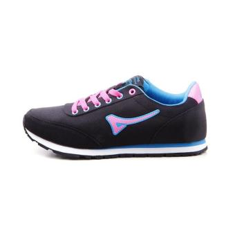 Women Teaberry Hitam Biru Running Shoes