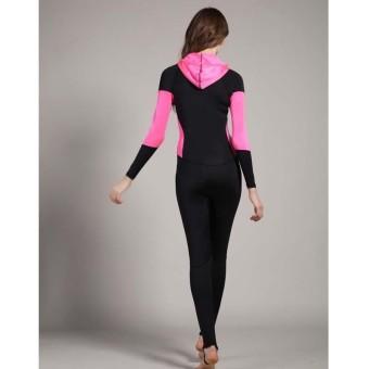 ... Musim Dingin Penuh Baju Renang. Source · Wanita Wetsuits Swimwears Bertudung Menyelam Snorkeling Wet Setelan Lengan Panjang Berselancar Rash Guards Satu ...