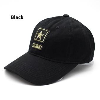 Militer Berburu Memancing Topi (Warna  3 Warna)-Tentara Hijau-Satu Ukuran e7856e48a5