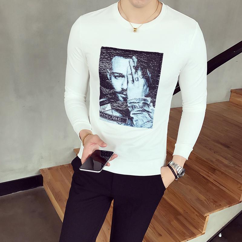 LOOESN Korea Fashion Style laki-laki berkerudung musim gugur sweater hoodie (W17119 merah). Source · Flash Sale Wy25 payet baru musim gugur Slim lengan ...