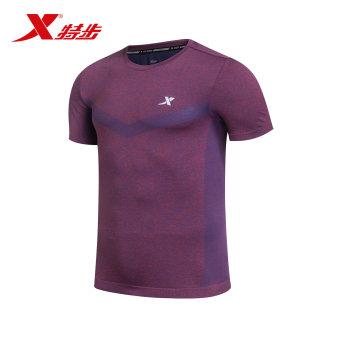 ... Korea Fashion Style kemeja pendek. Source · Xtep baru bernapas elastis kebugaran kemeja t-shirt (Ungu)