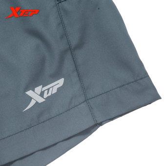 XTEP Brand Men's Fashion Short Pants Casual Shorts Men's Quick Dry Short Pants Athletic Tennis Gym Tennis Shorts (Grey) - intl - 4
