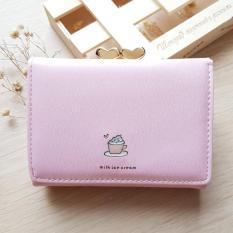 Yadas Korea Yumi 80 Dompet Wanita Lipat 3 - Soft Pink