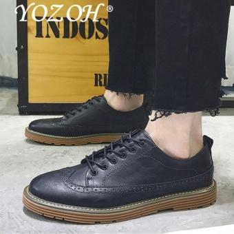 Sepatu Formal Sepatu Asli Kulit Bisnis Kantor Klasik Pria Kasual Shoescomfortable Kaus Kaki-Internasional