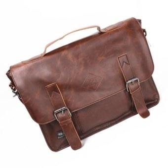 YSLMY Baru Baru Terbaik Tas Kulit Pria Klasik Messenger Bag Pria Fashion Kasual  Bisnis Tas Bahu 2fa2e1b068