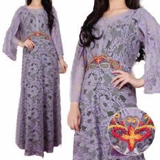 Yuki Fashion Kaftan Felisha 2 - Ungu - Best Seller