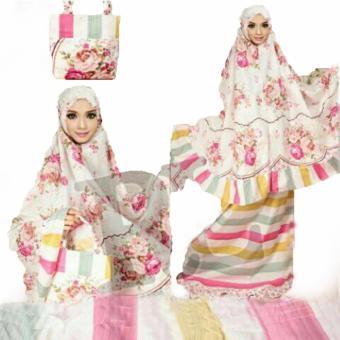 Yuki Fashion Mukena Al Gani - Pink