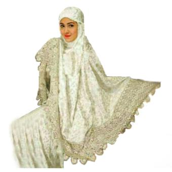 Yuki Fashion Mukena Zaskia 2 - Putih - Best Seller