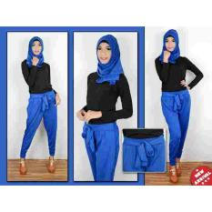 Yuki Fashion Setelan Mainah 3n1 - Biru2 - Best Seller