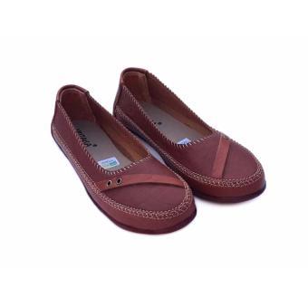 Detail Gambar Yutaka flat shoes SK01 - Tan Terbaru