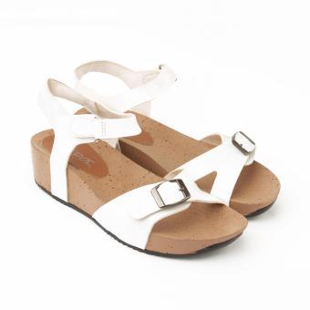 Yutaka Noepoe Sandal Wedges N-46 (Putih)