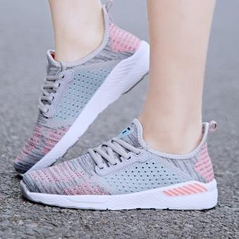 ZNPNXN KAUS Pecinta Sepatu Fashion Sepatu Olahraga Slip-On Sepatu Lari  Bernapas Pakai Sepatu Mewah e52ff157cb