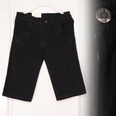 Zos Celana Jeans Pria Pendek Bagus Murah ( Hitam )