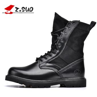 ... Z Suo luar ruangan ditambah beludru hangat sepatu gurun sepatu pria Model perempuan