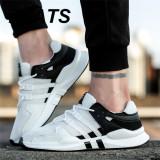 ... ZYATS 2018 Pria Baru Olahraga Ringan Fleksibel Athletic Gym Menjalankan Sepatu Sneakers Sepatu Berjalan Kasual -