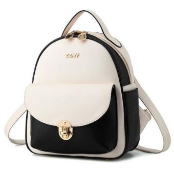 ZZMY - Women's Bound Skull Backpak TSX570 White - Tas Wanita