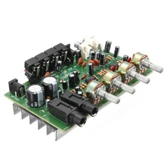 harga 12 V 60 W Hi Fi Stereo Digital Audio Power Amplifier Volume nada Control Board Kit Lazada.co.id