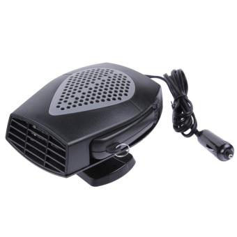 12 V Mobil Kendaraan Pemanas Portable Heating Kipas Pendingin Defroster Demister (Hitam)-Intl