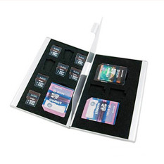 13in1 Aluminum Hard Carry Case Memory Card Protective SD Micro TF Holder Travel - Intl