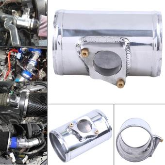 1x 2.48'' 63mm Aluminum MAF Mass Air Flow Housing Air Straightener Fits Ford Subaru