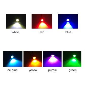 2 Buah 18 Mm 9 Watt LED Lampu Kabut Mobil Mata Elang DRL Lari Siang Sinyal Lampu Mundur Moonar (putih) - Internasional - 2