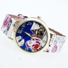 2 Pcs * 2016 Perdagangan Luar Negeri Ledakan Menonton Geneva Geneva Lady Natal Gift Printing Watch Dipersonalisasi QUARTZ Watchgray-Intl