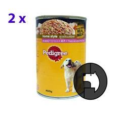 2 pcs pedigree 400 gr puppy (can)