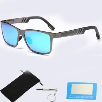 2017 HD Terpolarisasi Kacamata Pria Merek Desain Pria Oculos Aluminium  Magnesium Kacamata Olahraga Kacamata Hitam Kacamata ddab24cf96