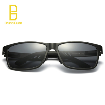 2017 new Aluminum Magnesium Alloy Polarized Sunglasses For WOMEN Men Driving 2140 Sun Glasses 6560 (black frame black lense) - intl