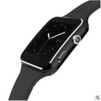 2017 New Bluetooth Smart Watch X6 Smart watch sport watch For Apple iPhone Android Phone With Camera FM Support SIM Card - intl