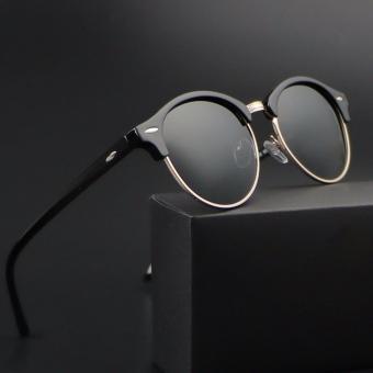 2017 Baru Terpolarisasi Lingkaran Retro Klasik Kacamata Wanita Mewah Kacamata Hitam Desainer Merek Wanita Gafas Oculos