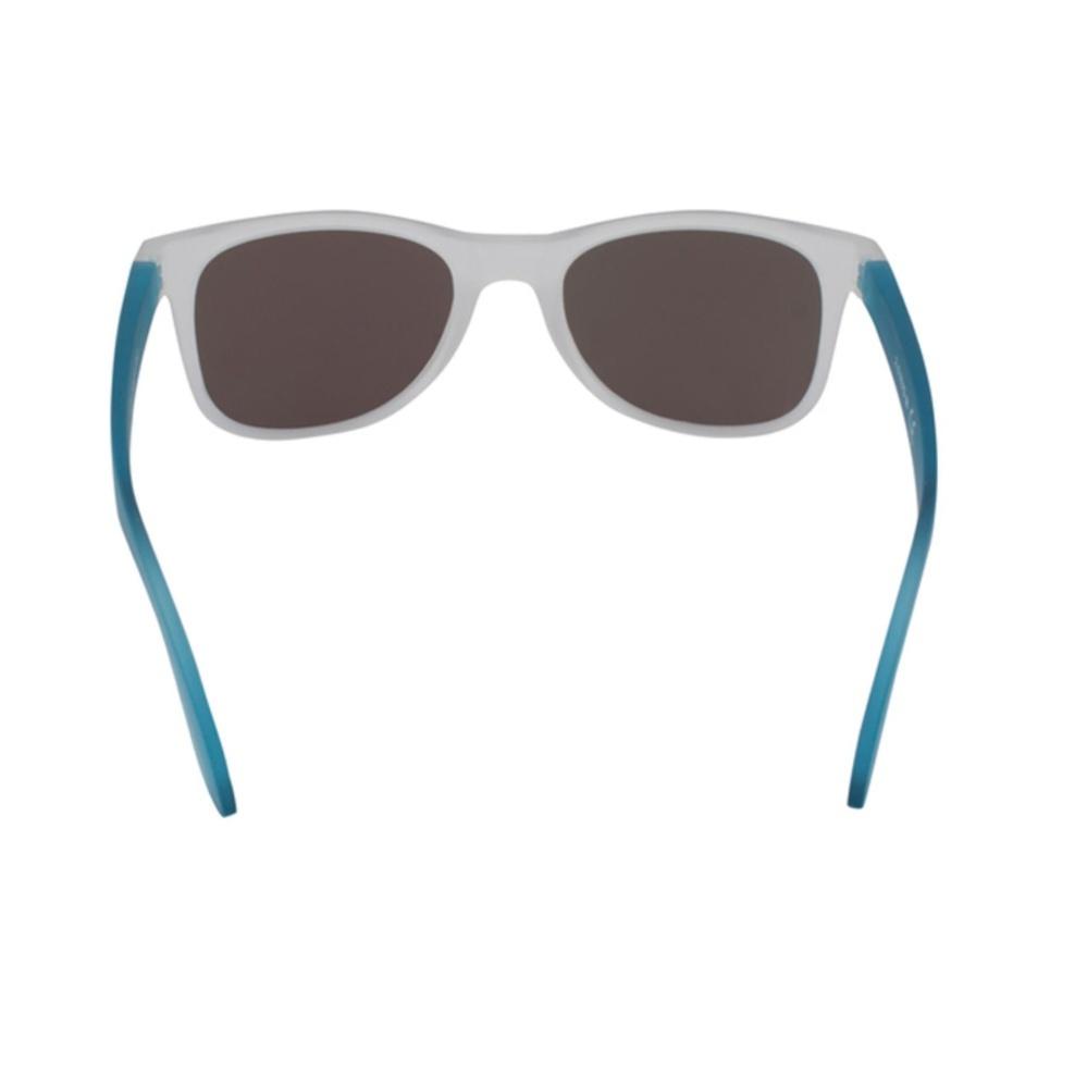 2.5 NVG Kacamata Unisex Putih Persegi Panjang lengan kacamata Biru Proteksi  UV 400 . fc35a7d3fb